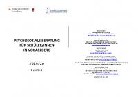 Psychosoziale Beratung für SchülerInnen in Vorarlberg