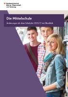 Aenderungen Mittelschule 2020/2021