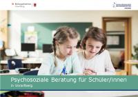 Psychosoziale Beratung für Schülerinnen in Vorarlberg_2021